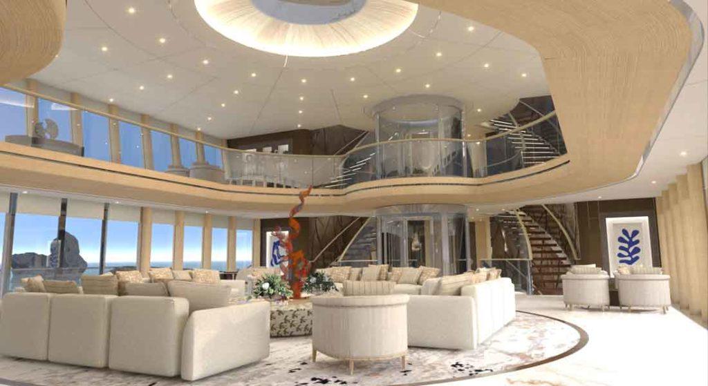 the superyacht Emir comes from Gresham Yacht Design