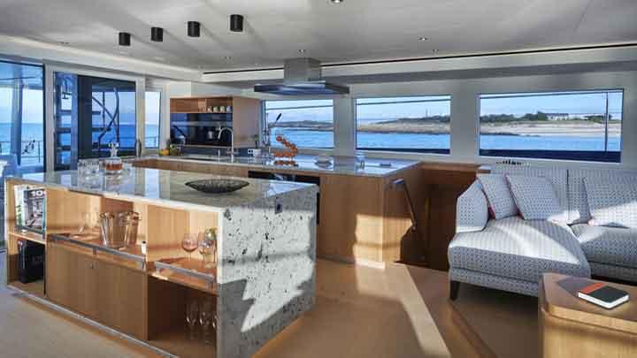 4Ever the first Long Island Power 78 megayacht