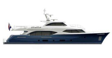 the Moonen 110 megayacht starts build in 2020