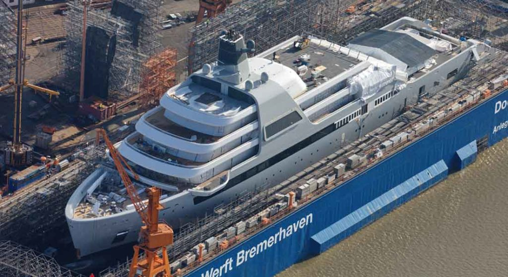 Project Solaris may be Lloyd Werft's last superyacht