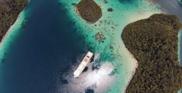 superyacht visitors will love Raja Ampat in Indonesia