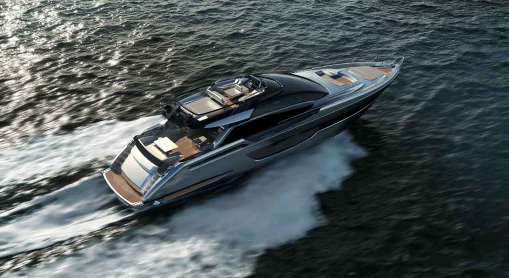 the Riva 76 Perseo Super megayacht debuts in summer 2021