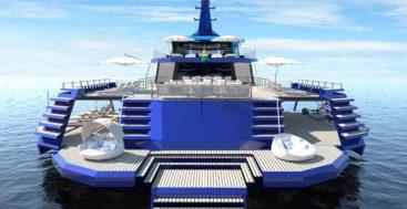 Valerio Rivellini's Extended Explorer megayacht concept