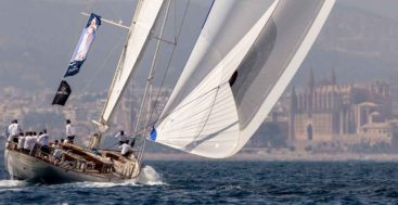 the Superyacht Cup Palma is exclusively for sailing superyachts