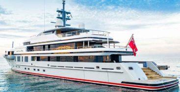 VSY delivered the superyacht Atomic in 2021