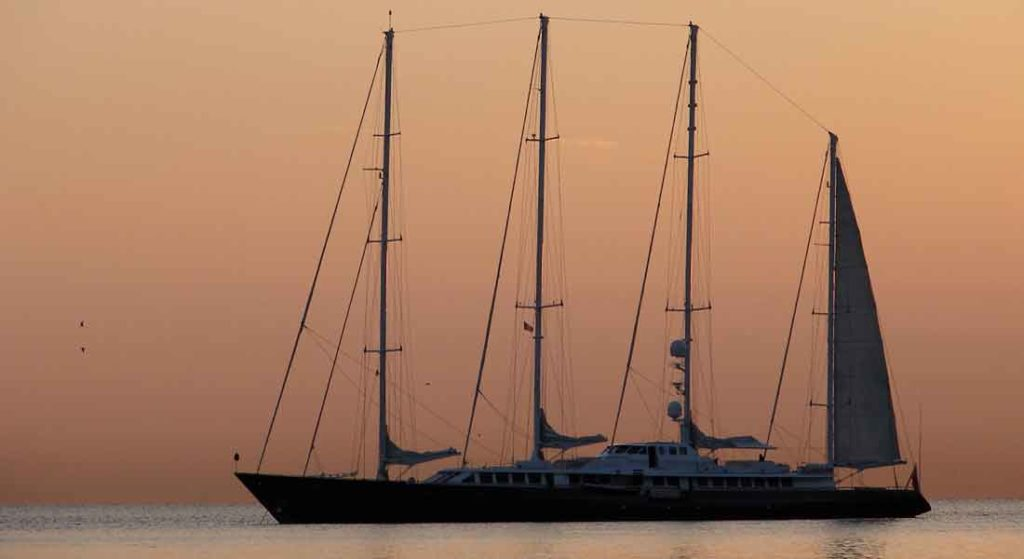Phocea became the sailing superyacht Enigma