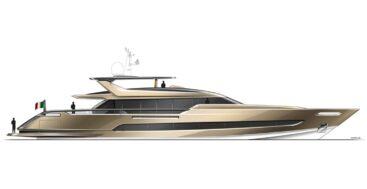 the Baglietto 41m Superfast hull 10242 megayacht