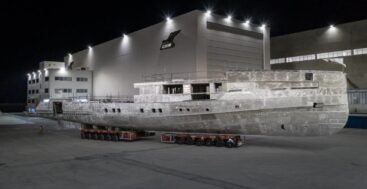 CRN 142 is a 52-meter megayacht