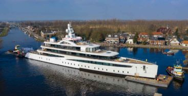 Feadship Project 817 is a 2021 megayacht delivery