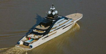 the megayacht Nord is one of the largest in the world