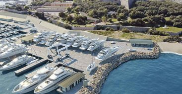 Monaco Marine Antibes will look much different for megayacht service in 2022