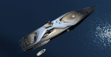 the Oceanco Kairos concept brings new ideas to superyacht design and propulsion