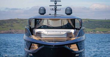 2021 Palm Beach show megayacht displays include the Princess X95
