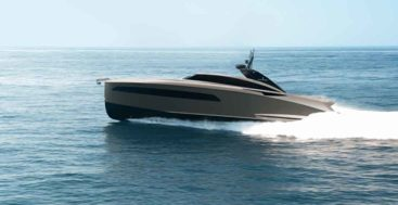 The Libertas 15M megayacht tender comes in a special Eric Kuster edition