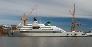 Solaris on sea trials has the superyacht world buzzing