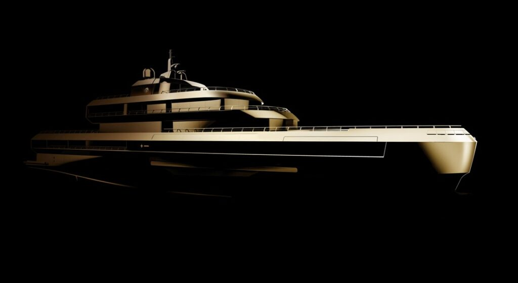 Giorgio Armani and The Italian Sea Group are building a 72-meter superyacht