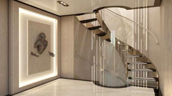 the Elegantiae superyacht design exudes extreme elegance