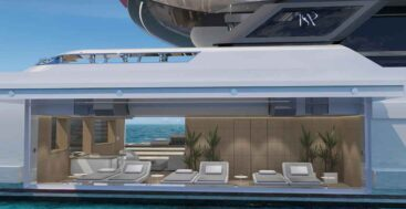 the ISA Yachts Ayrton series has a phenomenal beach club