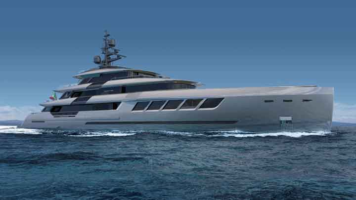 the Ayrton 63 megayacht is the first in ISA Yachts' Ayrton series