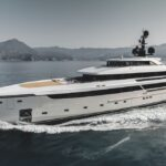 the Sanlorenzo 62 Steel Cloud 9 has long superyacht styling