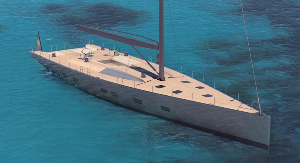 a Wally 101 sailing superyacht is coming in 2023