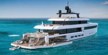 the Nauta 54m Wide superyacht pushes out the beam for more space