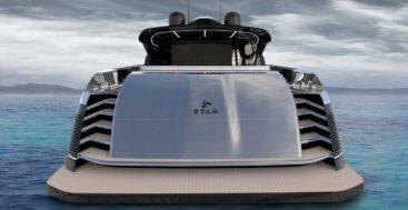 the Otam Custom Range 115 megayacht is a true custom project