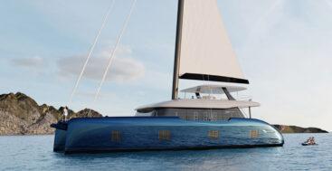 the Sunreef 100 is a new sailing superyacht catamaran