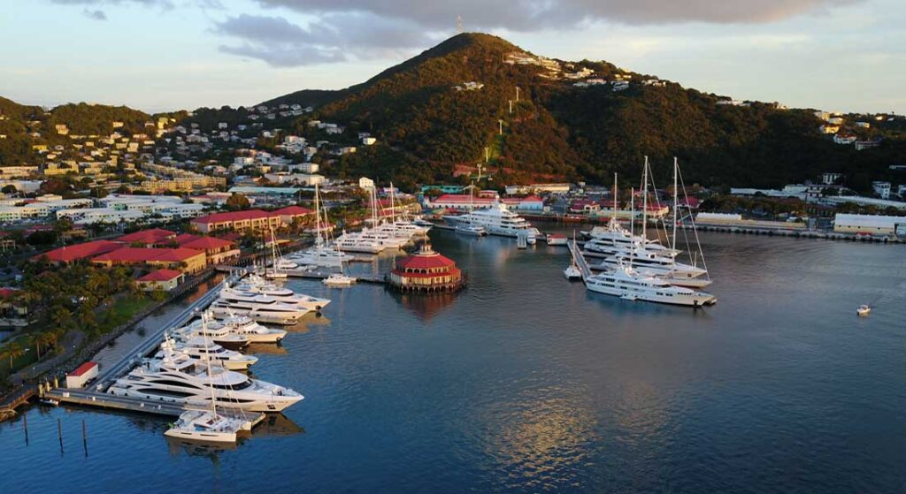the inaugural Caribbean Yacht Charter Show will be at the superyacht marine Yacht Haven Grande