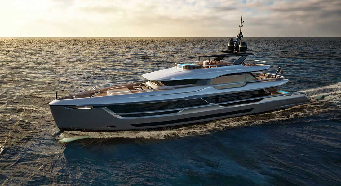 Atlante Mistral 41, First of New 6-Yacht Series