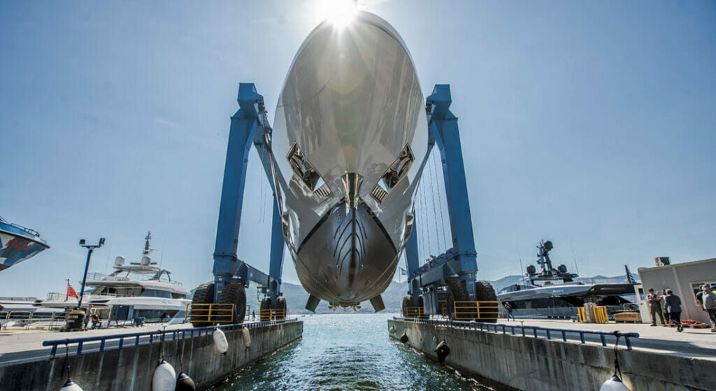 the Baglietto Lion is the latest megayacht in the 48m T-Line