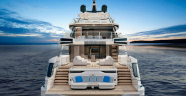 the fourth DOM133 megayacht from Baglietto