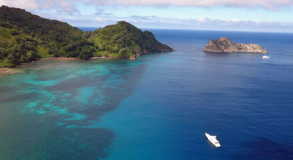 Costa Rica cruising and charter itineraries for megayachts should include Cocos Island