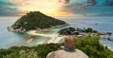Island-hopping by superyacht in Thailand must include Koh Pha Nang