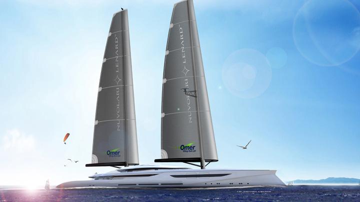 Nuvolari-Lenard's Vento sailing superyacht is a true sailing yacht, not sail-assisted