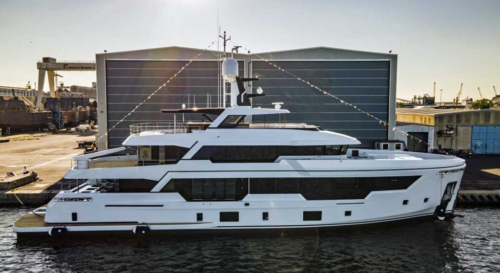 Rosetti Superyachts' first launch is the RSY 38m EXP
