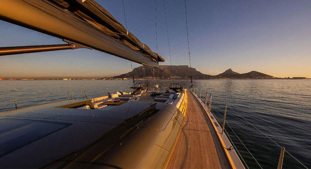 Southern Wind Shipyards built the sailing superyacht Taniwha