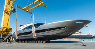 AB 100 Superfast is a super-fast superyacht