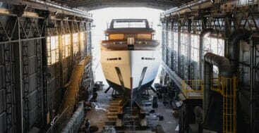 the Codecasa F77 superyacht is a custom project