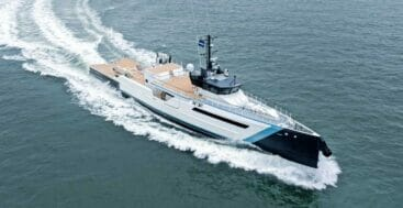 Damen Yachting's Time Off is ready for superyacht support
