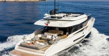 the X76 Loft is a crossover megayacht model from Extra Yachts