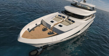 Project Mirage 401 is a megayacht available for sale