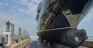 the superyacht Resilience is an ISA Classic 65