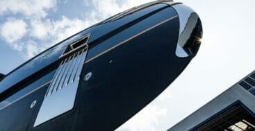 with the superyacht Phi finally in the water, Royal Huisman will deliver her soon