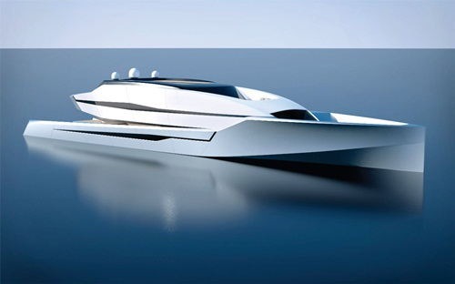 superyacht Ra by Adam Voorhees