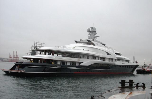 Attessa Iv Launches Megayacht News